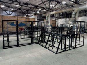 Изготовление металлоконструкции для спортивной площадки
