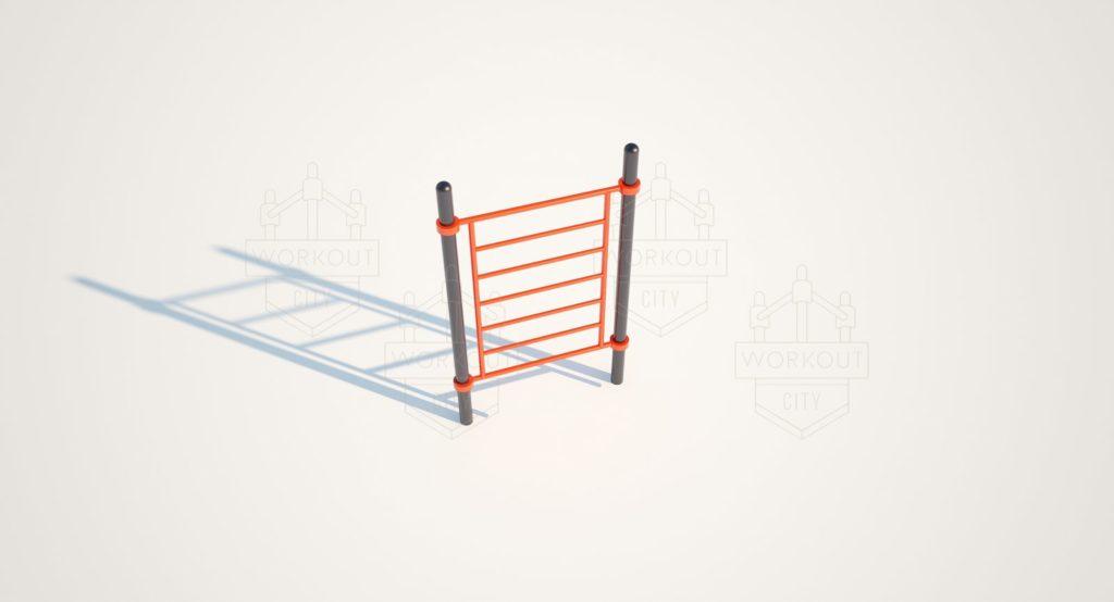 Шведская вертикальная лестница WS-18